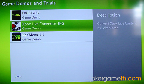 Xbox Live Converter