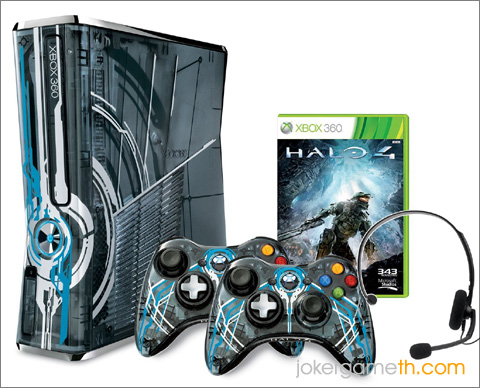 Xbox 360 Limited Edition Halo4 Bundle