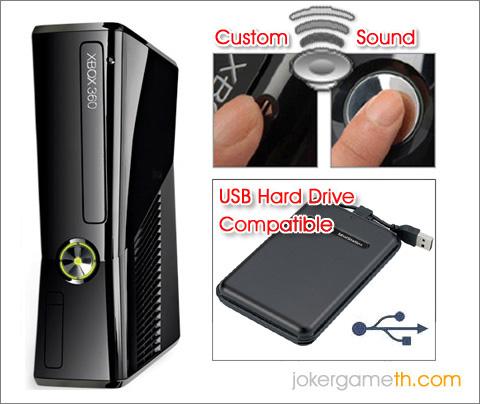 Xbox Slim 250Gb Custom Sound